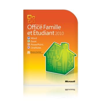 Microsoft Office Famille/Etudiant 2010 Boite (79G-01903 obso) - Achat / Vente Logiciel Suite bureautique sur Cybertek.fr - 0