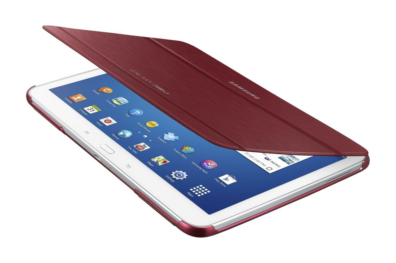 "Samsung Book Cover Galaxy Tab 3 10.1"" Red (EF-BP520BREGWW) - Achat / Vente Accessoire Tablette sur Cybertek.fr - 0"