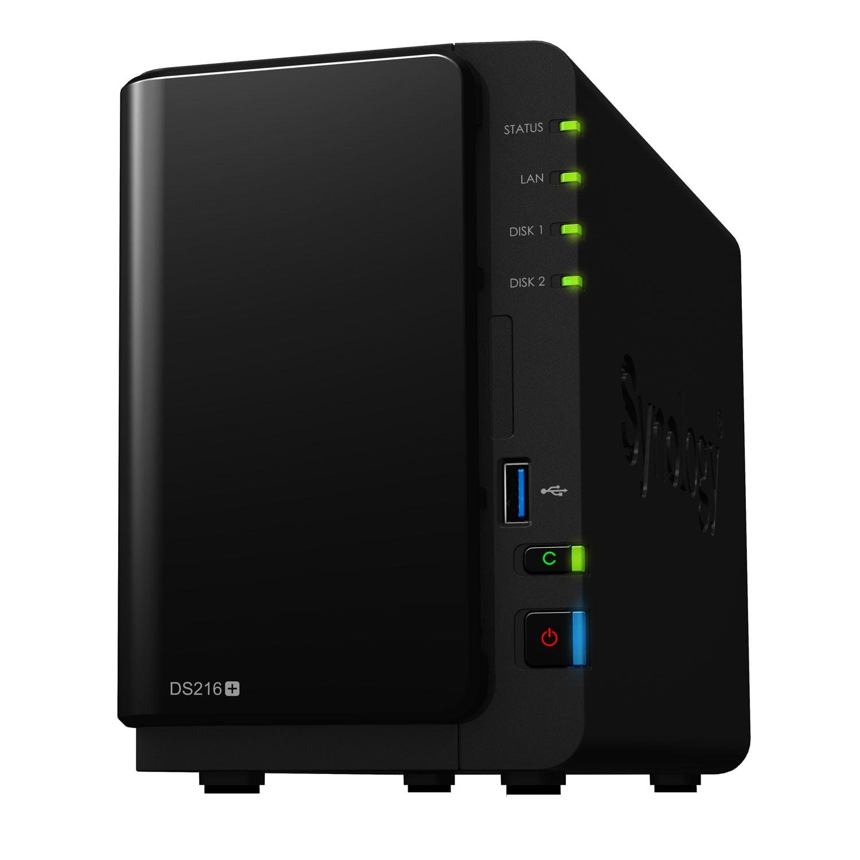 Synology DS216+ (DS216+) - Achat / Vente Serveur NAS sur Cybertek.fr - 0