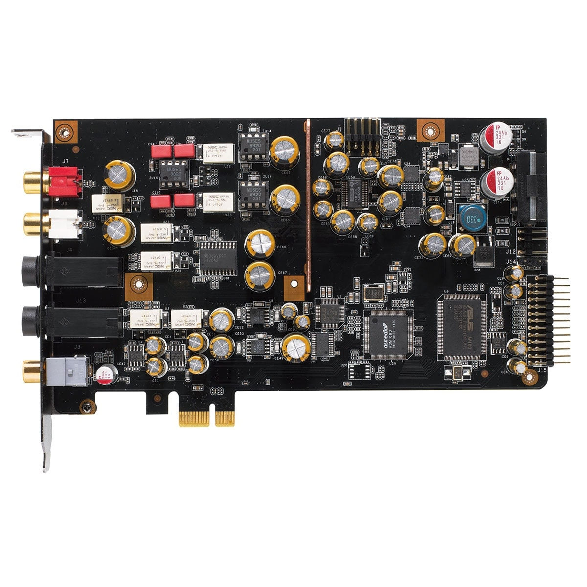 Asus Xonar Essence STX II 7.1 PCI-E - Carte son Interne PCI Express - 1
