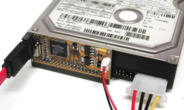 Adaptateur Périphérique IDE en SATA - Connectique PC - Cybertek.fr - 0