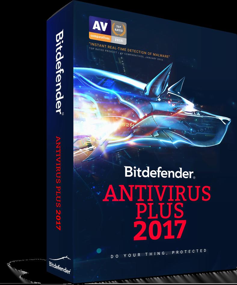 Pack 4+1 Antivirus Plus 2017 - 1 An / 1 PC - Cybertek.fr - 1