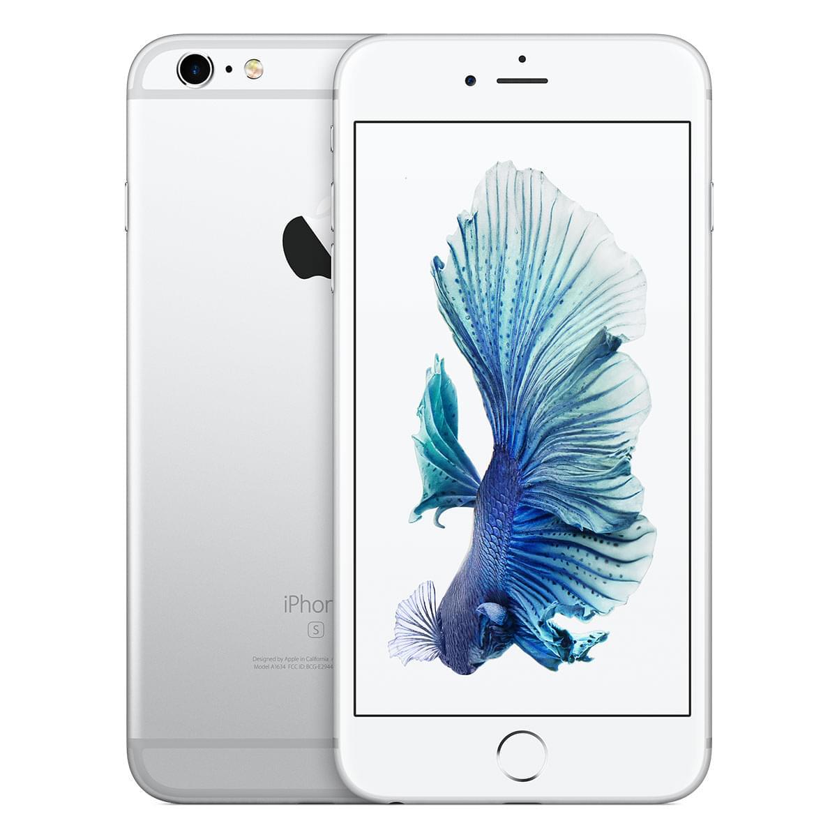 Apple iPhone 6s Plus 64Go Argent (MKU72ZD/A) - Achat / Vente Téléphonie sur Cybertek.fr - 0