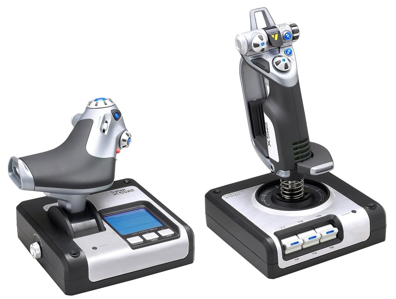 MAD CATZ Joystick throttle HOTAS X52 (PS28) - Achat / Vente Périphérique de Jeu sur Cybertek.fr - 0