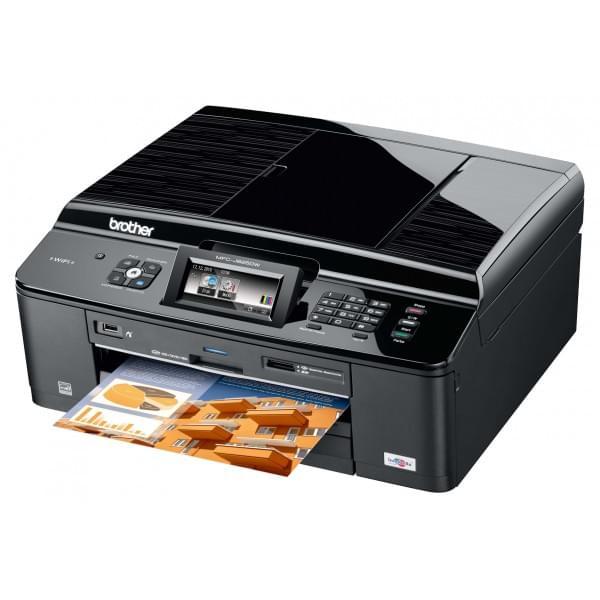 Brother MFC-J825DW (MFCJ825DW) - Achat / Vente Imprimante multifonction sur Cybertek.fr - 0