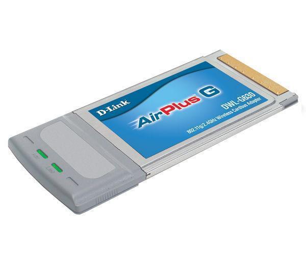 D-Link Carte réseau D-Link PCMCIA WiFi 802.11G (54MB) DWL-G630 (DWL-G630) - Achat / Vente Carte réseau sur Cybertek.fr - 0