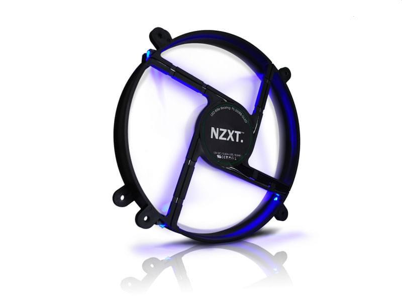 NZXT FS-200 LED Blue - Ventilateur CPU NZXT - Cybertek.fr - 0