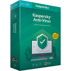 image produit Kaspersky Antivirus - 1 An / 1 PC Cybertek