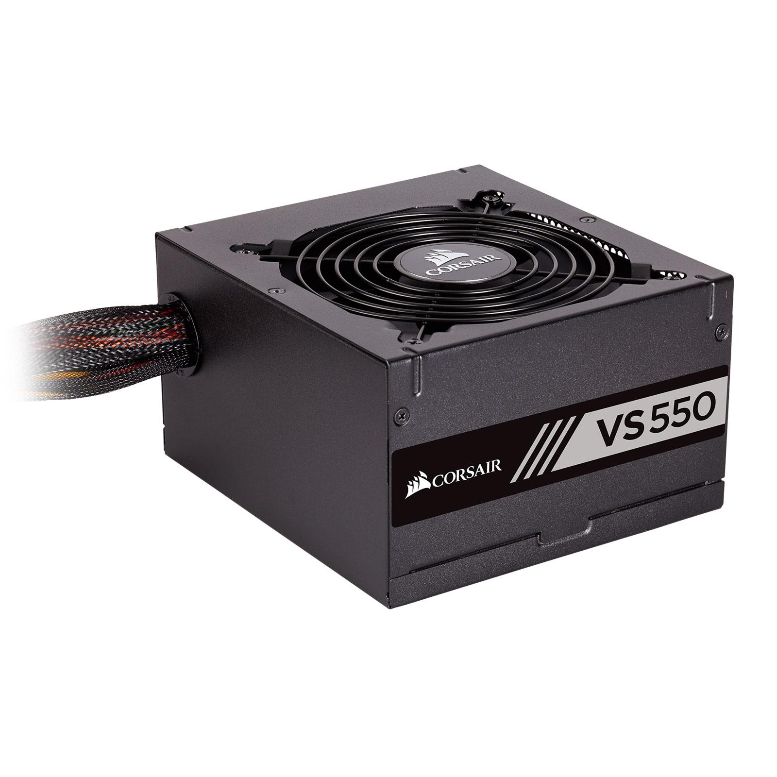 Corsair VS550 80+ (550W) - Alimentation Corsair - Cybertek.fr - 4