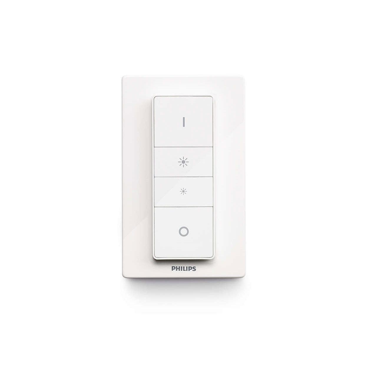 Philips HUE - Télécommande/Variateur de lumière (929001173701) - Achat / Vente Objet connecté / Domotique sur Cybertek.fr - 0