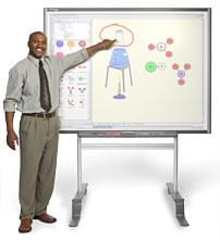 "Smart Board TIB 680 77"" (195,6 cm) (SB680) - Achat / Vente Access. Audio-Photo-Vidéo sur Cybertek.fr - 0"