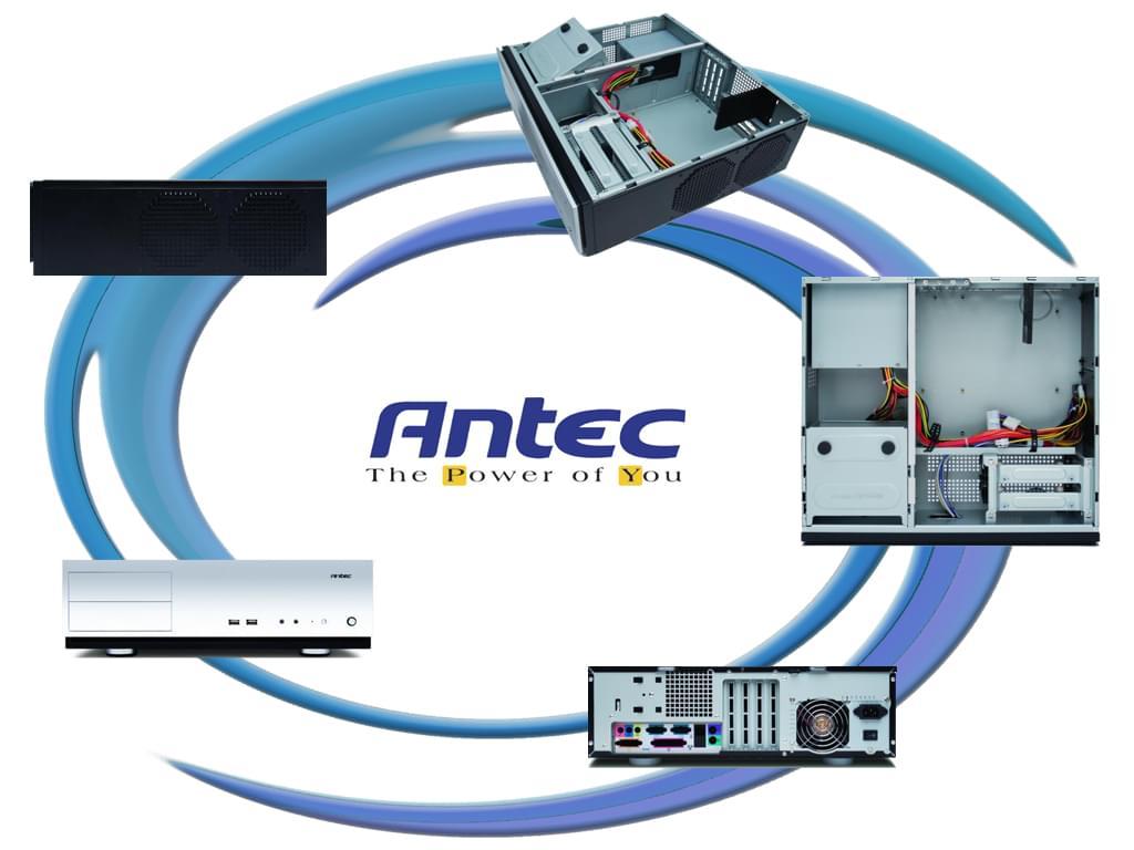 Antec DT/380W/mATX/Acier Gris - Boîtier PC Antec - Cybertek.fr - 0