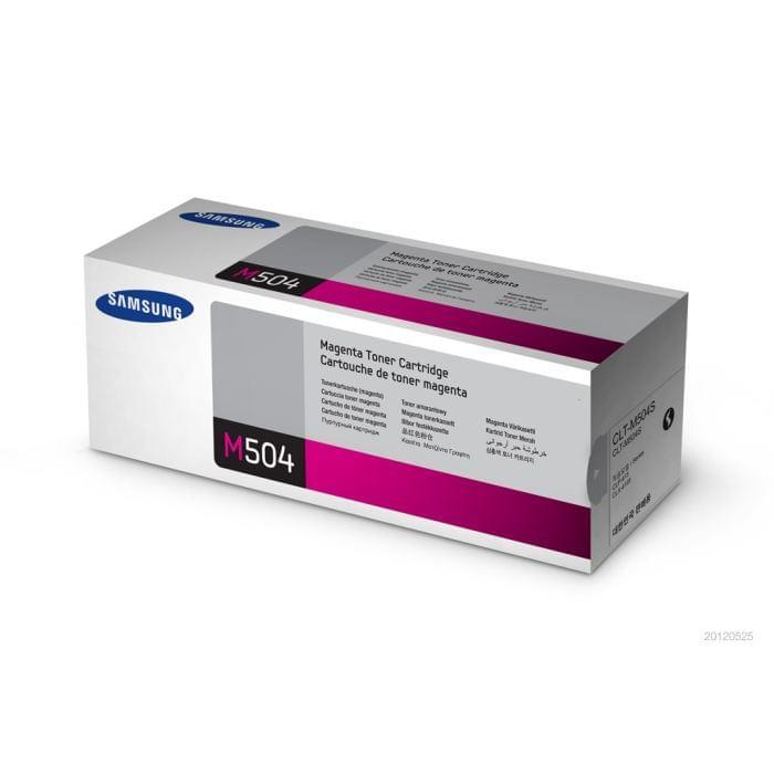 Toner Magenta CLT-M504S pour imprimante Laser Samsung - 0