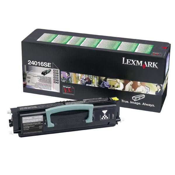Toner Noir 2500p - 0024016SE pour imprimante Laser Lexmark - 0