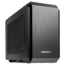 Cougar Boîtier PC QBX Black - mT/Sans Alim/ITX Cybertek