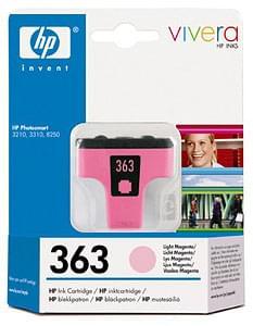 HP Cartouche N° 363 Magenta clair (C8775EE) - Achat / Vente Consommable Imprimante sur Cybertek.fr - 0