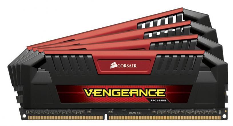 Corsair CMY32GX3M4A2400C11R (4x8Go DDR3 2400 PC19200) (CMY32GX3M4A2400C11R) - Achat / Vente Mémoire PC sur Cybertek.fr - 0