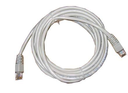Câble Cat5 3m - Connectique réseau - Cybertek.fr - 0