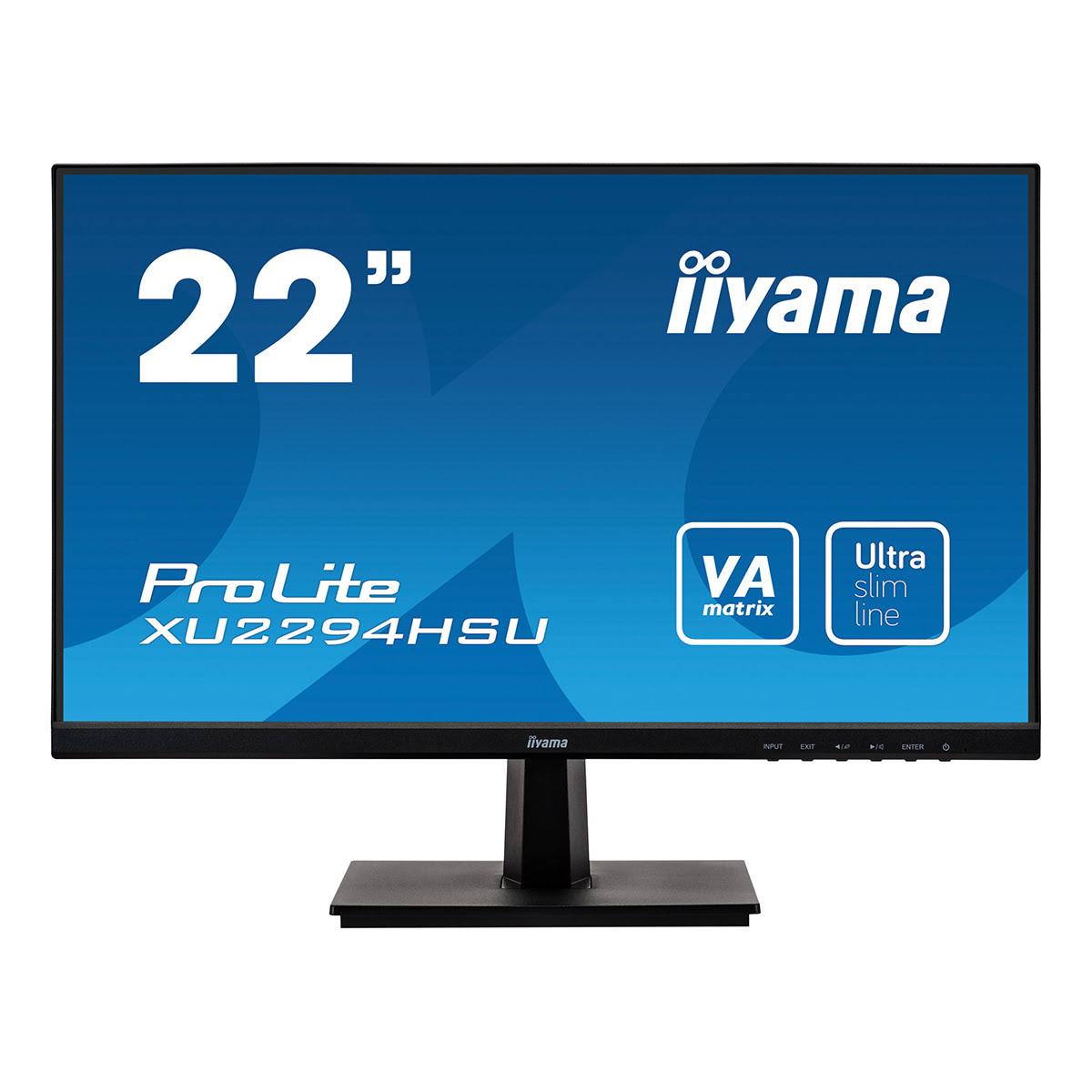 "Iiyama 22""  XU2294HSU-B1 - Ecran PC Iiyama - Cybertek.fr - 0"