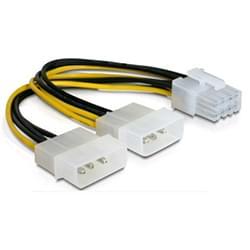 DUST Connectique PC Câble alim. carte Mere 8 pins vers molex Cybertek