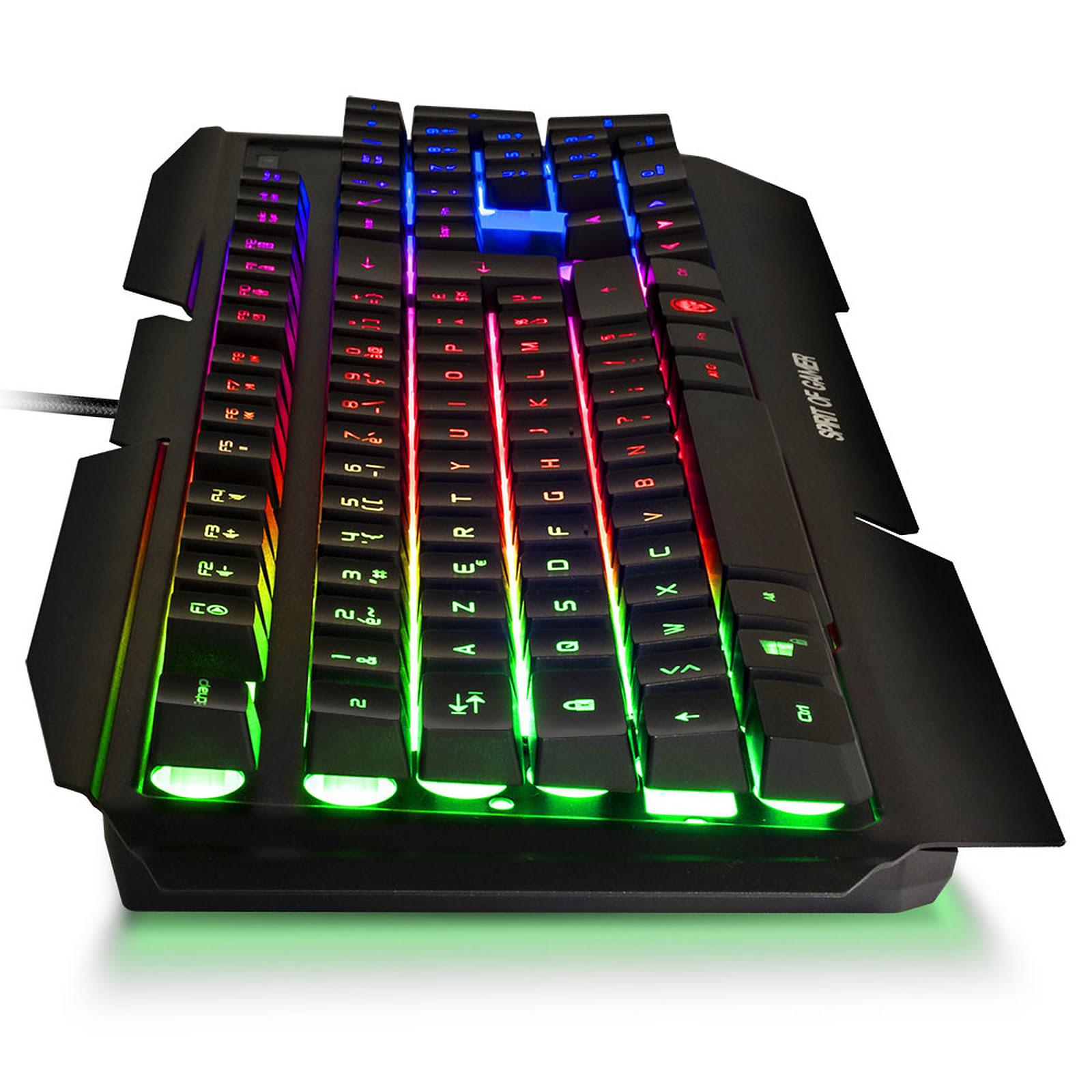 Spirit Of Gamer PRO-K5 RGB Semi-mécanique - Clavier PC - 1