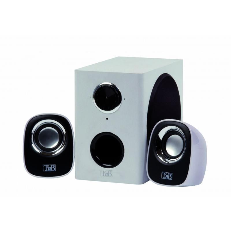 T'nB MX Series 2.1 Blancs HPMX21WH (HPMX21WH soldé) - Achat / Vente Enceinte PC sur Cybertek.fr - 0