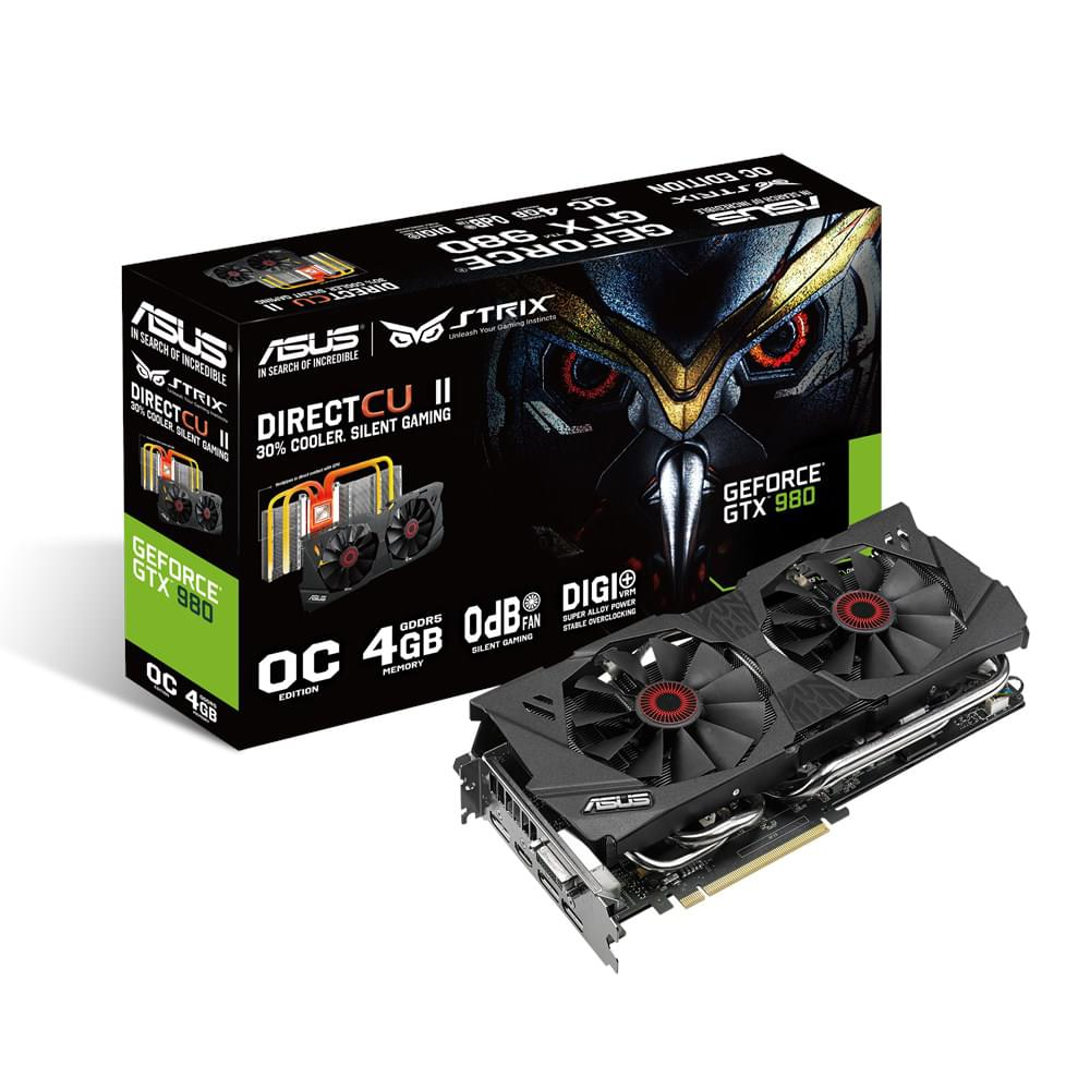 Asus STRIX GTX980-DC2OC-4GD5 4Go - Carte graphique Asus - 0