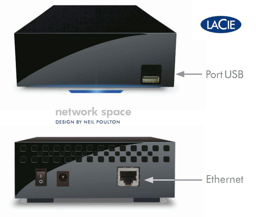 LaCie 2To Network Space 2 - Disque dur externe LaCie - Cybertek.fr - 0