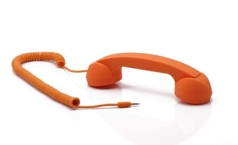 Native Union Combiné Retro Moshi Moshi pour smartphone (MM01H-ORANGE_ST-1) - Achat / Vente Accessoire Téléphonie sur Cybertek.fr - 0