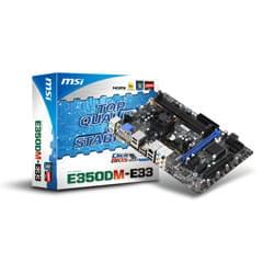 MSI Carte Mère E350DM-E33 - E-350D/DDR3/PCI-E/mATX Cybertek