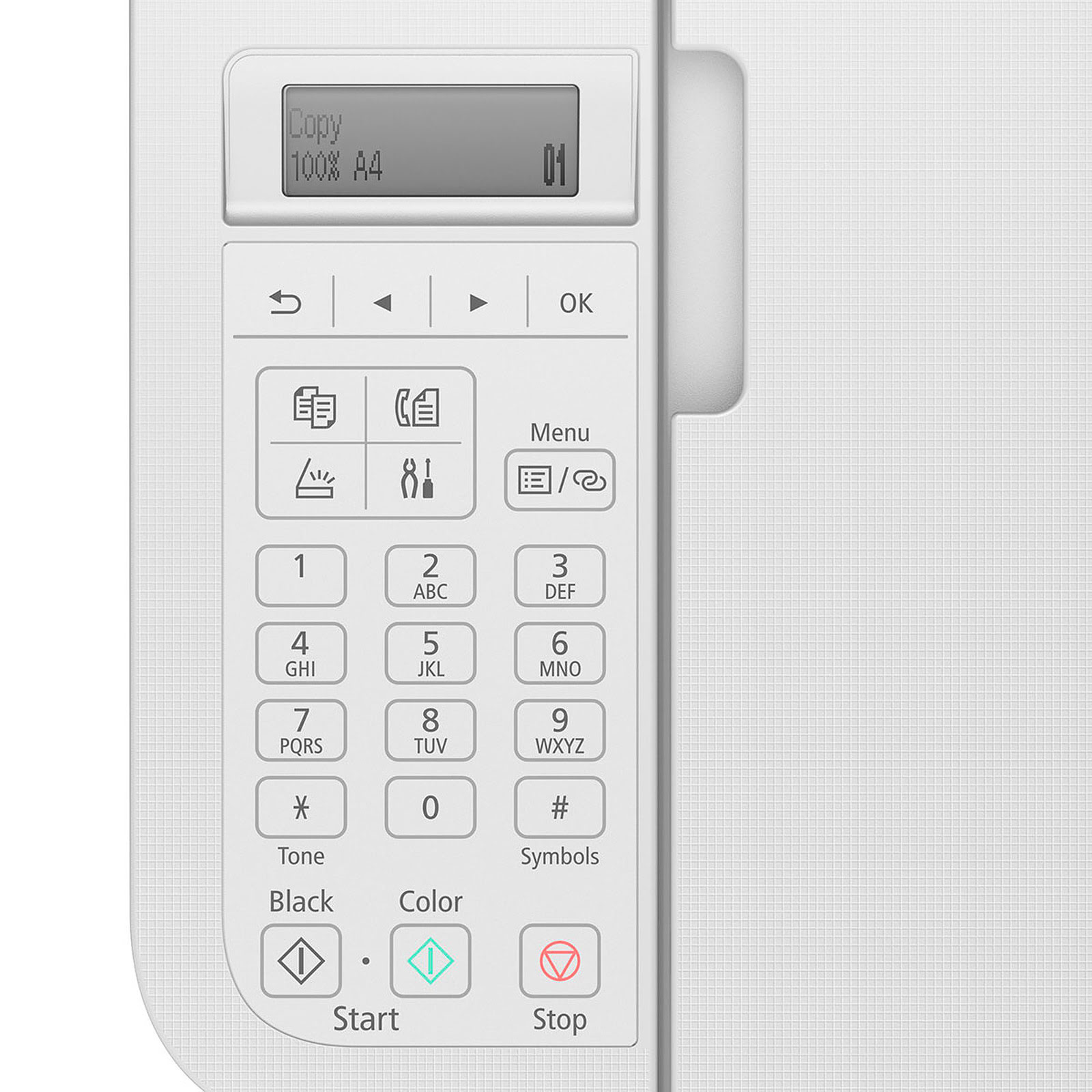 Imprimante multifonction Canon PIXMA TR4551 White - Cybertek.fr - 1