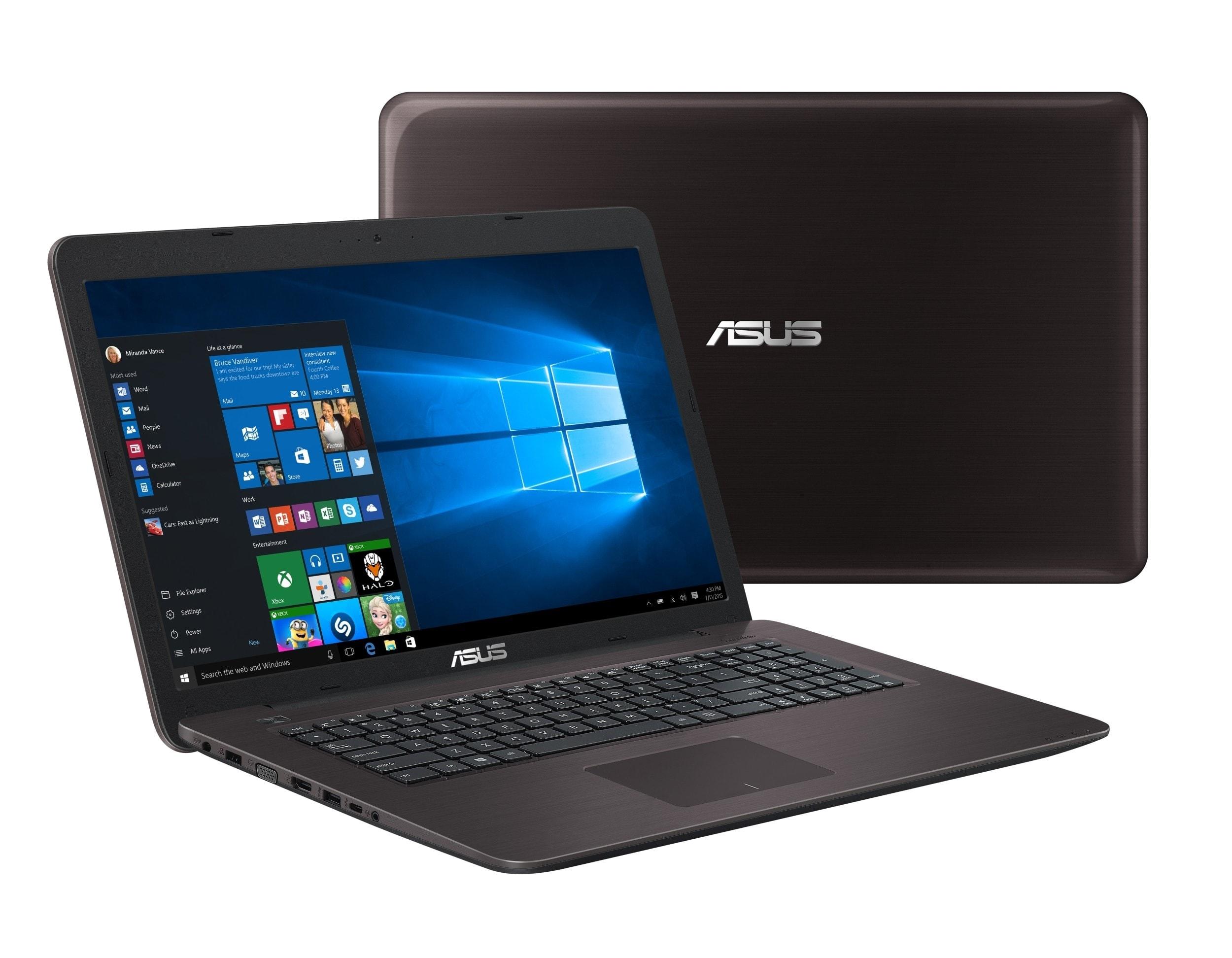 Asus X756UB-TY056T Marr. (90NB0A11-M00600) - Achat / Vente PC portable sur Cybertek.fr - 0