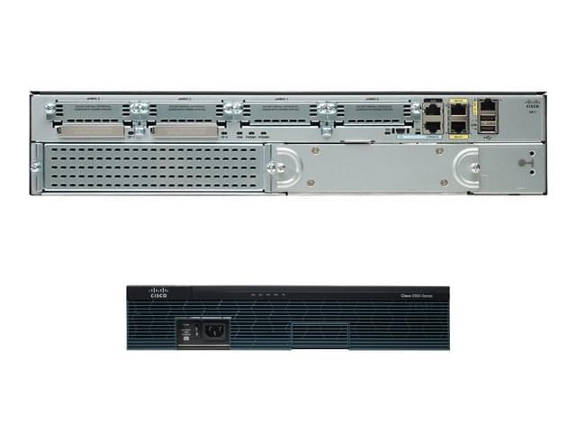 Cisco 2911/K9 Rackable 2U (CISCO2911/K9) - Achat / Vente Routeur sur Cybertek.fr - 0