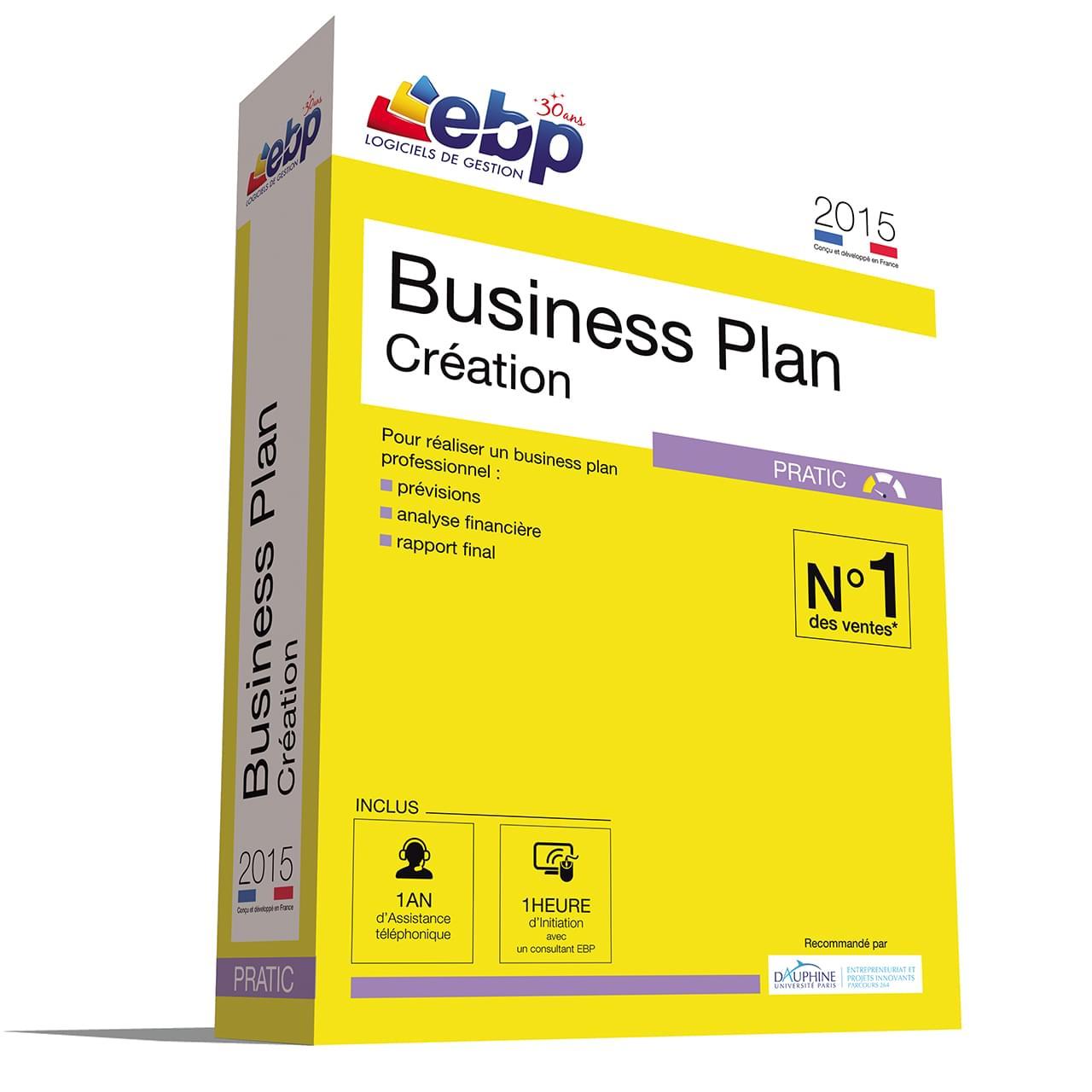 EBP Business Plan Pratic 2015 + VIP (1155E071FAB) - Achat / Vente Logiciel application sur Cybertek.fr - 0