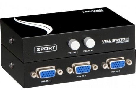 No Name Commutateur VGA manuel 2 entrées/1 sortie (011621) - Achat / Vente Commutateur et splitter sur Cybertek.fr - 0