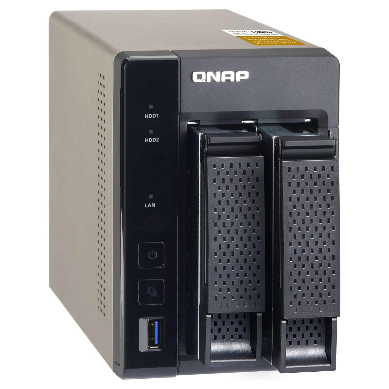 Qnap TS-253A-4G  Braswell N3150 quad-core 1.6GHz (TS-253A-4G) - Achat / Vente Serveur NAS sur Cybertek.fr - 0