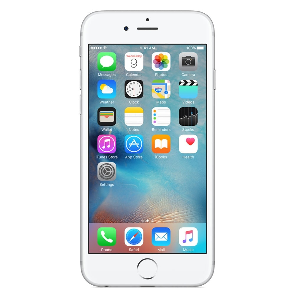 Apple iPhone 6s 16Go Argent  (MKQK2ZD/A) - Achat / Vente Téléphonie sur Cybertek.fr - 2