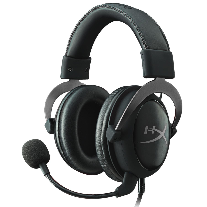 HyperX Cloud II Pro Gaming Headset (Gun Metal) (KHX-HSCP-GM) - Achat / Vente Micro-casque sur Cybertek.fr - 0