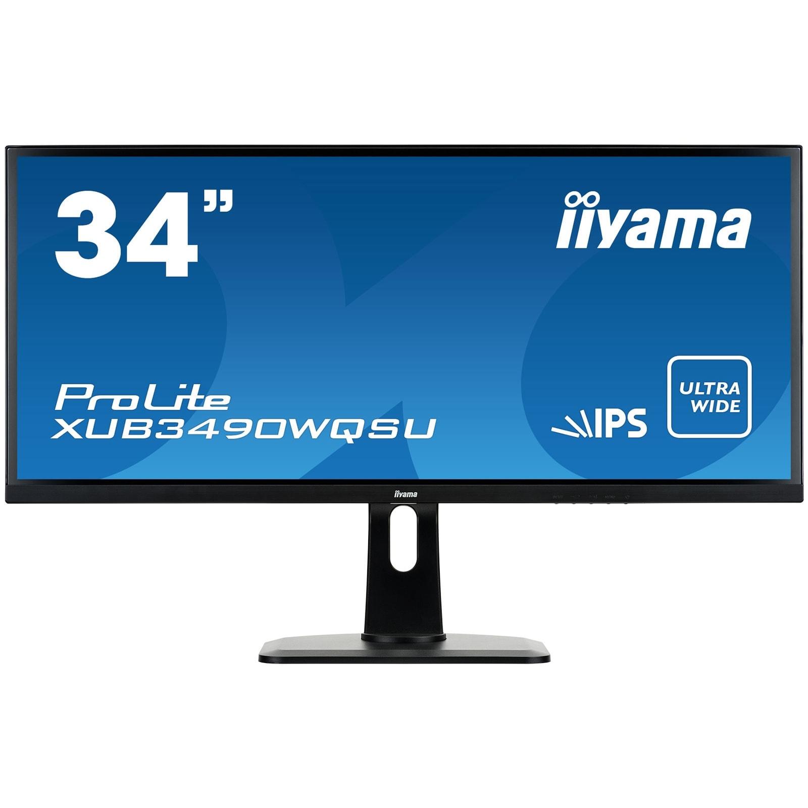 "Iiyama 34""  XUB3490WQSU-B1 - Ecran PC Iiyama - Cybertek.fr - 0"
