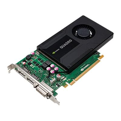 PNY nVidia Quadro - 2Go - carte Graphique PC - GPU  - 0