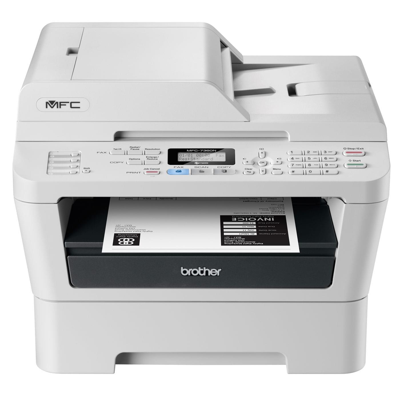 Brother MFC-7360N (MFC7360NF) - Achat / Vente Imprimante multifonction sur Cybertek.fr - 0