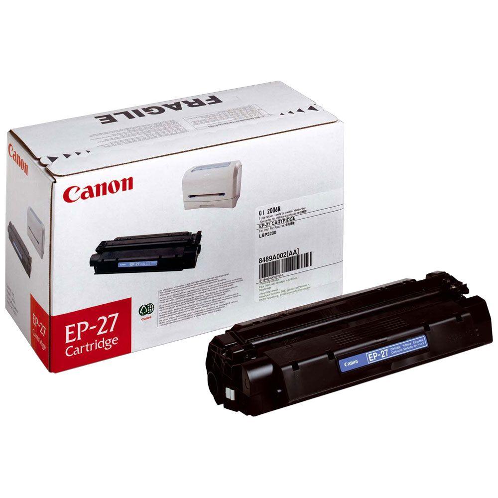 Canon Toner EP-27 Noir (8489A002) - Achat / Vente Consommable Imprimante sur Cybertek.fr - 0