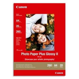 Canon Papier Photo Brillant 13x18 20f (2311B018) - Achat / Vente Papier Imprimante sur Cybertek.fr - 0
