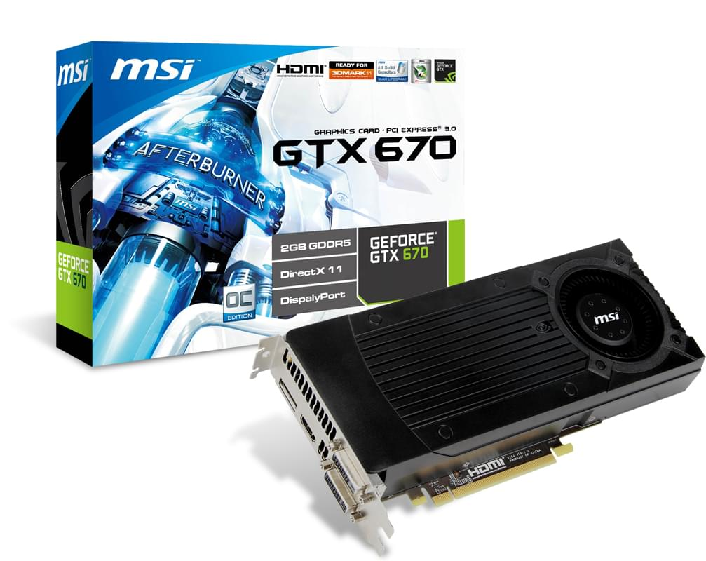 MSI N670GTX-PM2D2GD5/OC 2Go - Carte graphique MSI - Cybertek.fr - 0