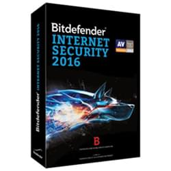 Bitdefender Logiciel-Antivirus Internet Security 2016 - 1 An / 3 PC Cybertek