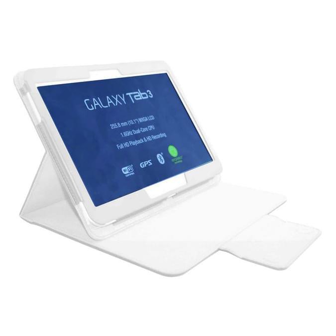 "Housse IRON Blanche pour Galaxy Tab 3 10.1"" - 0"
