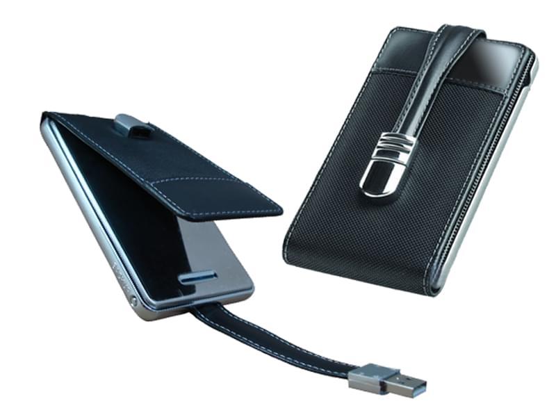 MaxInPower USB2.0 pour DD 2'1/2 SATA Similicuir (BEMIP25B5CA) - Achat / Vente Boîtier externe sur Cybertek.fr - 0