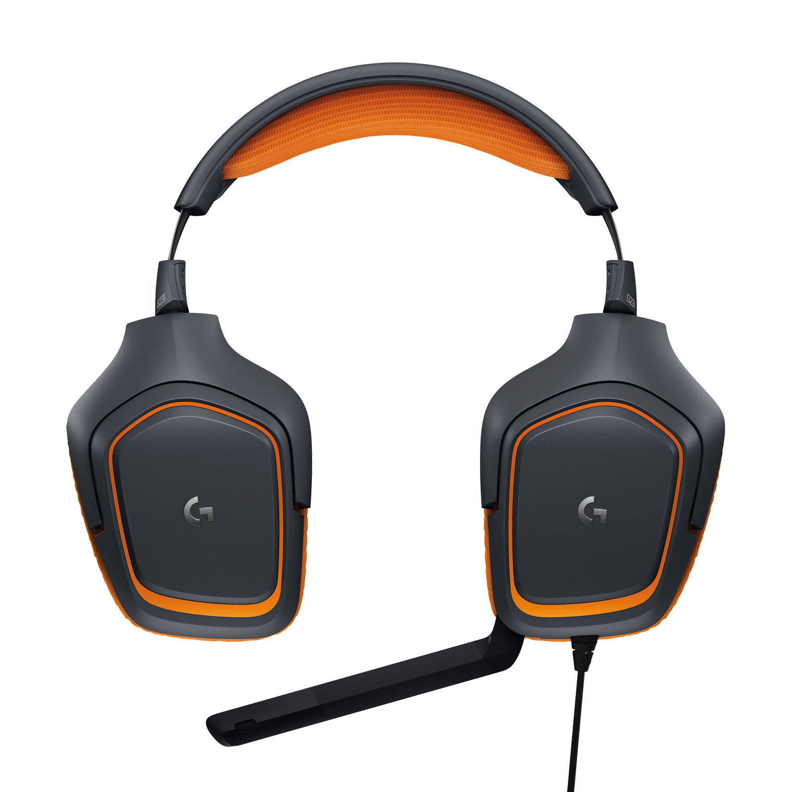 Logitech G231 Prodigy Gaming Headset Stereo Orange - Micro-casque - 1