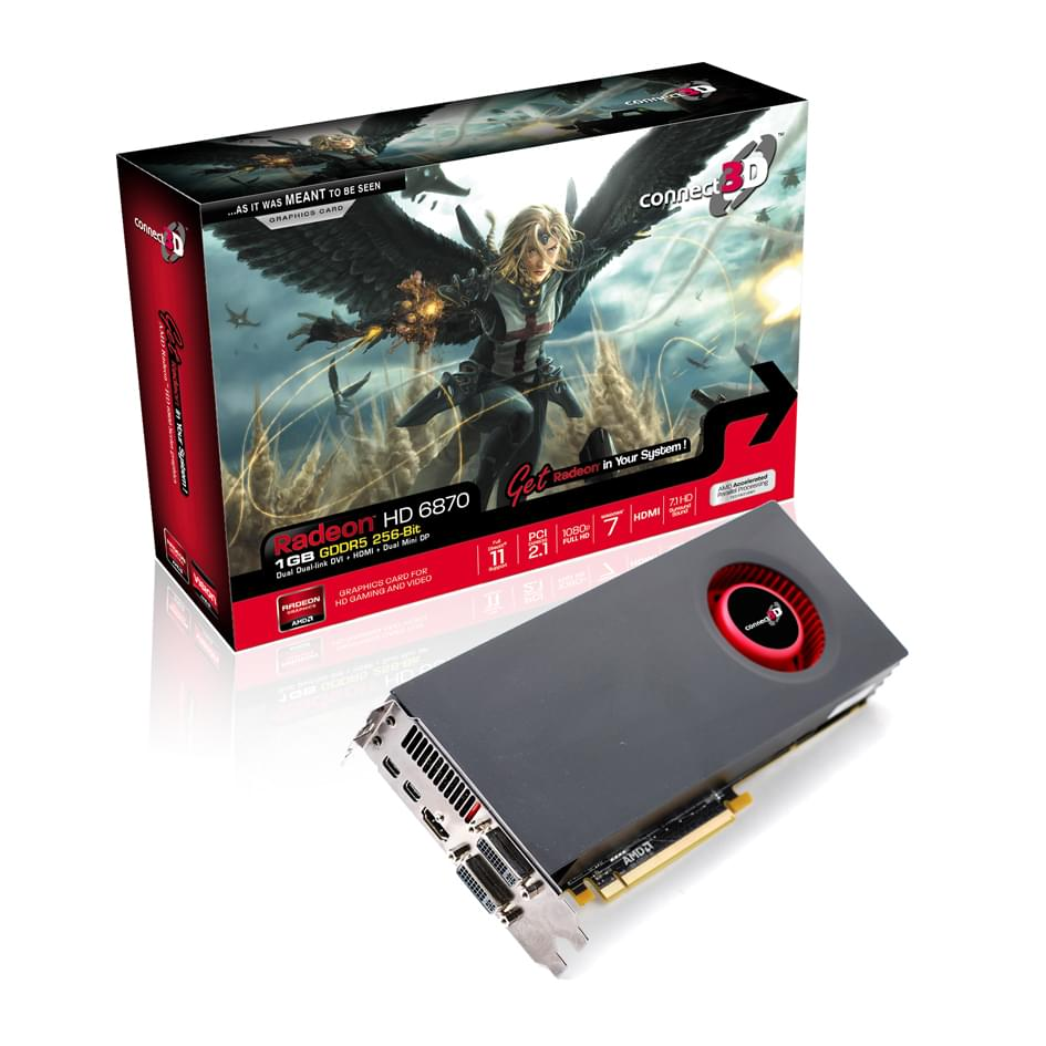 ATI Radeon HD 6870 (obso) - Achat / Vente Carte graphique sur Cybertek.fr - 0