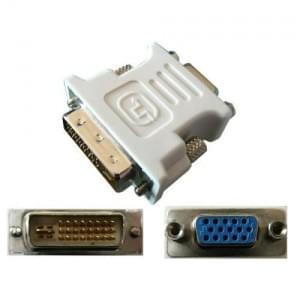 Adaptateur DVI mâle - VGA femelle - Connectique PC - Cybertek.fr - 0